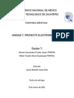 Proyecto electromecanico