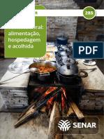 Turismo rural alimentacão,hospedagem e acolhida
