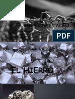 EL HIERRO Y EL ACERO