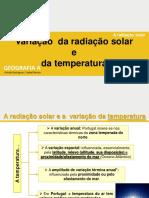 A Radiação Solar III 20-21