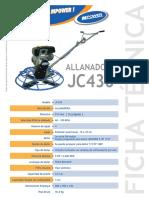 Allanadora JC436  2013