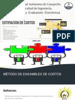 Métodos de Estimación de Costos.