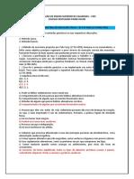 RECUPERAÇÃO BIMESTRAL DIOCESANO( 8º E 9º ANOS -  1º BIMESTRE )
