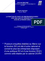 C-3-4 SUITE PRESENTATION ENQUETE FRH DANS LES PME-PMI MAROCAINES (1)