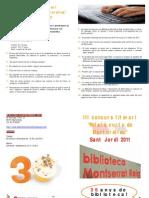 """III concurs literari """"Relats Curts de Martorelles"""""""