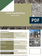 Fichas Arquitectónicas Ciudad de Santa Cruz de La Sierra Bolivia Centro Historico