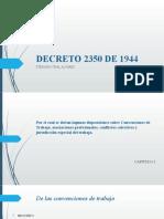 Decreto 2350 de 1944