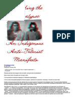 Repenser l'Apocalypse _ Un Manifeste Anti-futuriste Autochtone