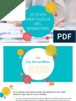 22 Leyes Inmutables Del Marketing.