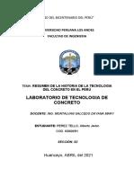 Resumen Historica de La Tecnologia Del Concreto en El Peru Final..