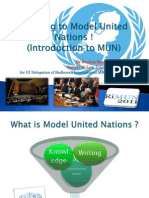 Jumping to Model United Nations ! for UI RiMUN 2011