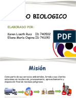 Cartilla de Riesgo Biologico
