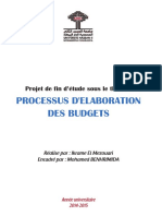 [MFE] Processus D_élaboration Des Budgets