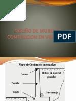 Diseno de Muro de Contencion en Voladizo 24042021