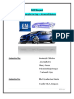 POM project_General Motors