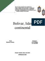 bolivar, lider continental (corregido)