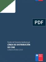 Convocatoria 2019 distribución chile