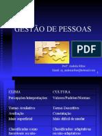 GERENCIAMENTO DE CONFLITOS E GESTÃO POR COMPETÊNCIAS