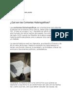 Corrientes Historiográficas PDF