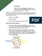 Definisi dan Ruang Lingkup