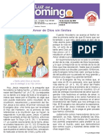 evangelio domingo 14 de marzo 2021