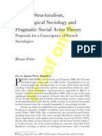 Genetic Structuralism, and pragmatic sociology_2004