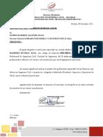 Carta Presentación Practicas Pre Profesionales Ing. Civil