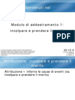 1 Module a (Attributional Style) Italiano