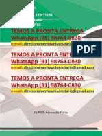 Educação Física 4º e 5º a Prática de Handebol Para Pessoas Com e Sem Deficiência WhatsApp (91) 98764-0830