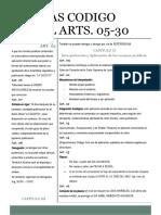 NOTAS CODIGO CIVIL ARTS