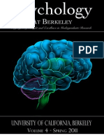 Undergraduate Journal of Psychology at U.C. Berkeley, Spring 2011