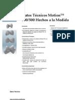 Datos Tecnicos Motion 700-500 Hecho a La Medidal