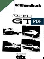 Opel GT  Werkstatthandbuch