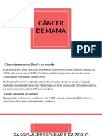 AUTOEXAME CANCER DE MAMA