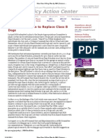 New Class B Dog Plan by NIH _ Science Policy _ American Physiological Society