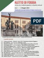 Il Dialetto Di Foggia N. 18 Del 1-05-2021