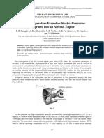 Russian Aeronautics (Iz VUZ) Volume 59 issue 1 2016 [doi 10.3103%2Fs1068799816010177] Ismagilov, F. R.; Khairullin, I. Kh.; Vavilov, V. E.; Farrakhov, -- A high-temperature frameless starter-generator