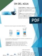 3. Tipos de Agua y Agua Potable