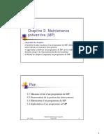 Chapitre3_A2008 Maintenance Prev