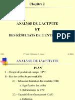 Chapitre 2- Analyse de l'Activité Converti