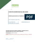 Actividad 001 Analisis Del Contexto General y Especifico de Las Organizaciones Del Sector Turistico Regional- Alvaro Lis Rojas