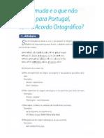 ACORDO ORTOGRÁFICO - RESUMO