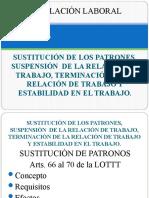 04 Tema 4. Sustitución de patronos. Suspensión de la relación de trabajo,