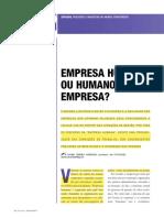 Empresa HumanaxHumano Empresa