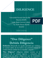 presentacion due diligence