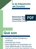 Modos adquisicion dominio 2011