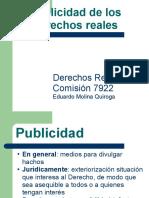 Publicidad registral inmobiliaria 2011