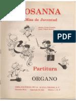 Misa de Juventud - Carlos Camacho - HOSANNA Organo