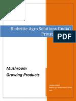 Mushroom pure cultures | NRC MUSHROOM PURE CULTURES