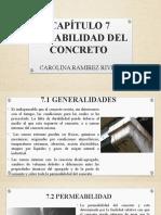 CAPÍTULO 7 DURABILIDAD DEL CONCRETO